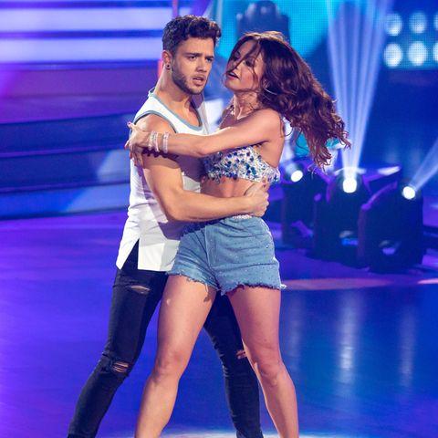 """Luca Hänni und Christina Luft 2020 bei """"Let's Dance""""."""