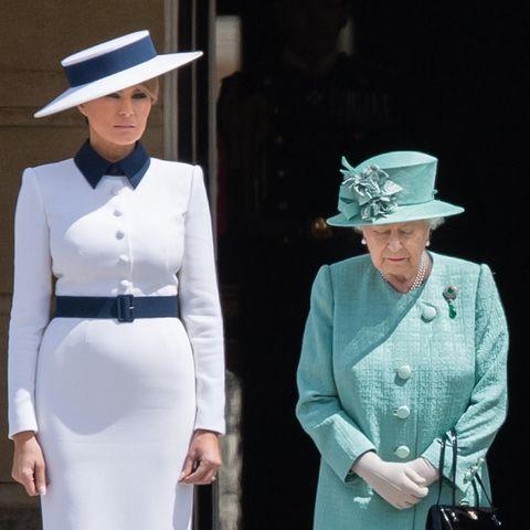 Melania Trump und Queen Elizabeth