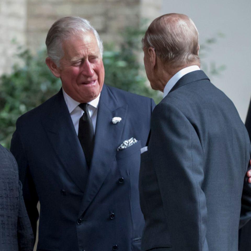 Prinz Charles und Prinz Philip