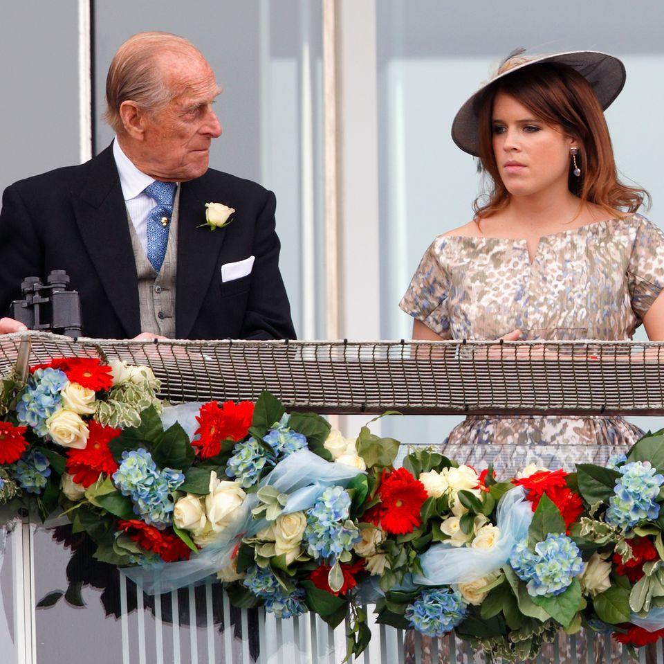 Prinz Philip (†) und Prinzessin Eugenie