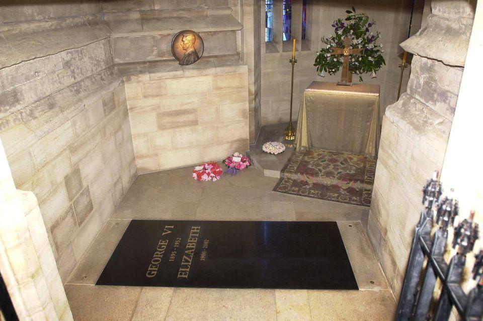 Die King George VI. Memorial Chapel. Hier wird Prinz Philip eines Tages neben der Queen beerdigt.