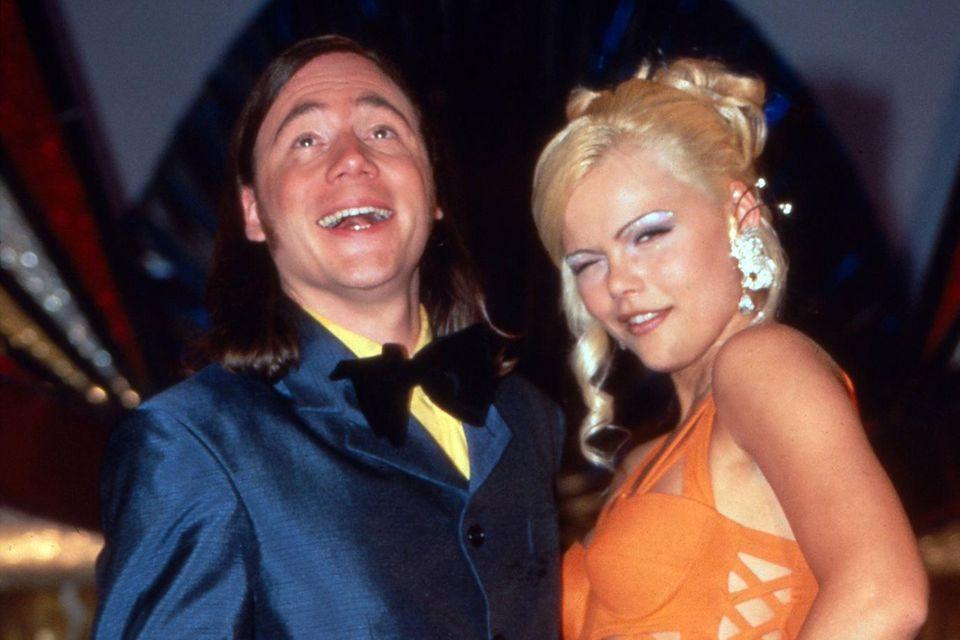 "Diana Herold mit Michael ""Bully"" Herbig bei der ""Bullyparade"" (1997 - 2002)"