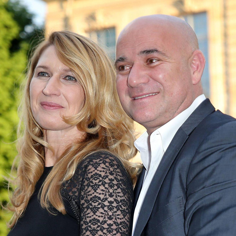 Andre Agassi Steffi Graf Das Paar Zeigt Sich Verliebt In Den Bergen Gala De