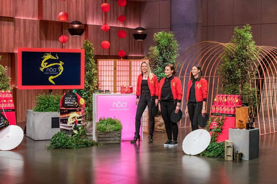 """Die Gründerinnen von """"Qinao"""" stellen bei """"Die Höhle der Löwen"""" ihr Produkt vor (auf Vox und TVNow)"""