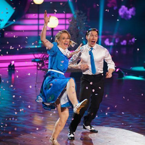 """Let's Dance"": Ilse DeLange und Evgeny Vinokurov"