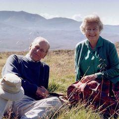 Prinz Philip (†) und Queen Elizabeth