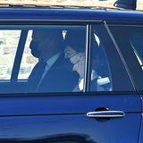 An seiner Seite natürlich Herzogin Catherine. Die drei Kinder der Paars sind nicht dabei.