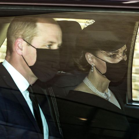 Herzogin Catherine: Ihre Halskette ist eine Hommage an die Queen und Prinz Philip