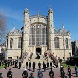 In der St. George's Chapel wird Prinz Philip beigesetzt.