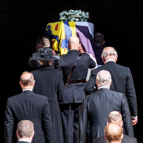 Prinz Philip: Hier sehen Sie die bewegendsten Bilder der Beisetzung