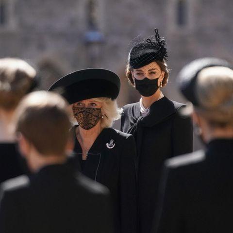 Herzogin Camilla und Herzogin Catherine gehören zum Inner Circle der Queen.