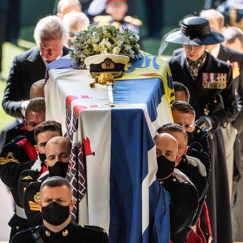 Prinz Philip: Die bewegendsten Bilder seiner Beisetzung in Windsor