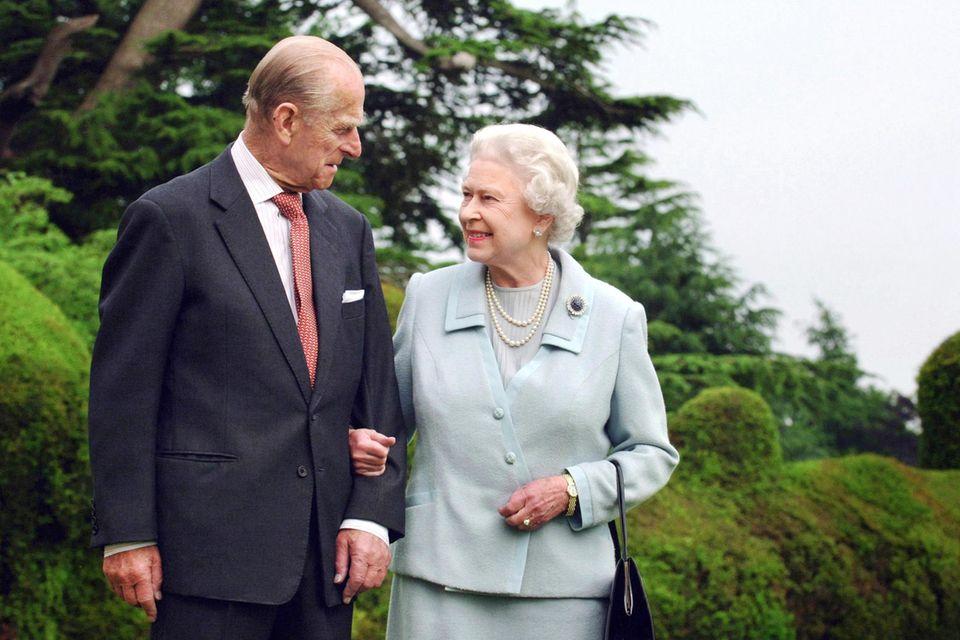 """Prinz Philip nannte seine Frau Queen Elizabeth liebevoll """"Lilibet""""."""