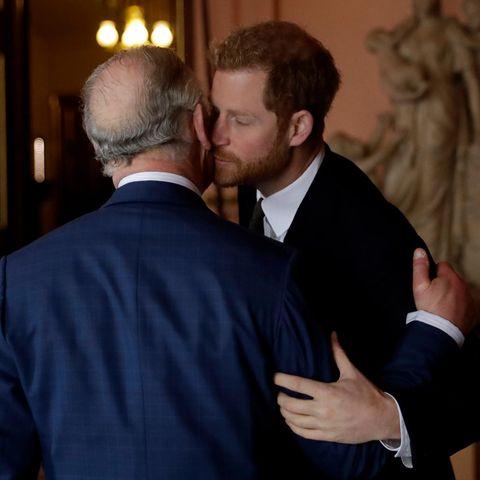 Prinz Charles + Prinz Harry