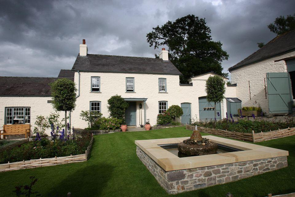 Das Llwynywermod-Cottage liegt im walisischen OrtLlandovery, etwa 320 Kilometer westlich von London entfernt.