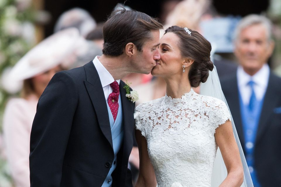 Pippa Middleton undJames Matthew haben sich am 20. Mai 2017 das Ja-Wort gegeben.