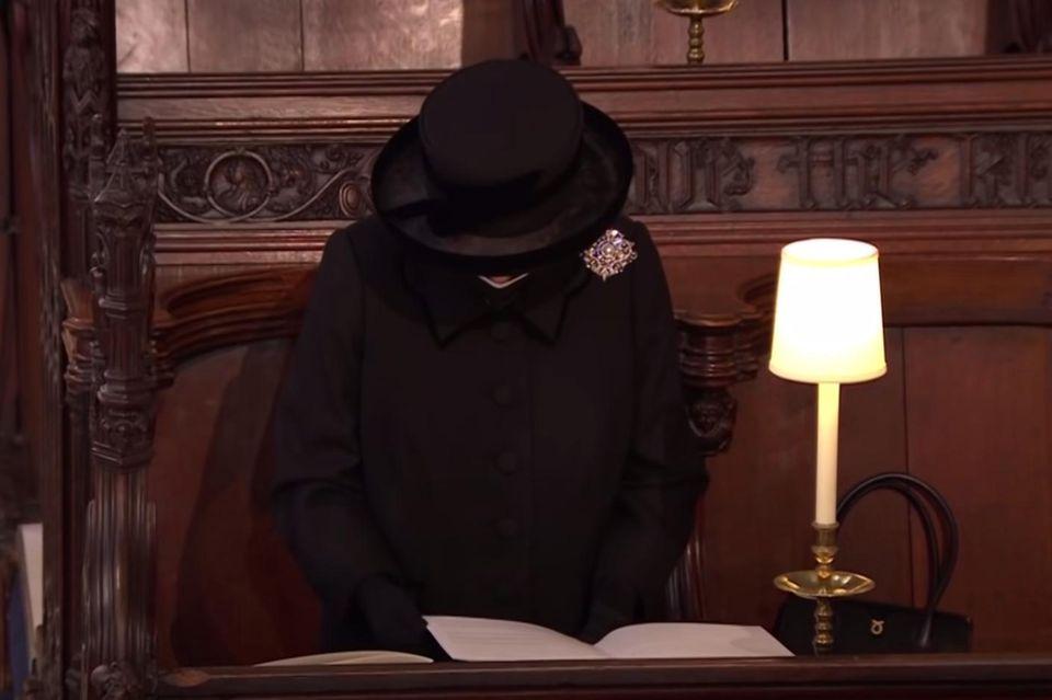 Queen Elizabeth trauert um ihren geliebten Ehemann.