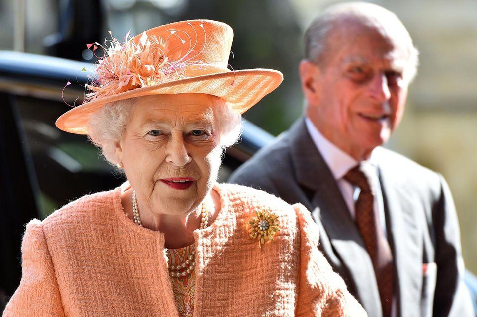 Queen Elizabeth und Prinz Philip (†99)