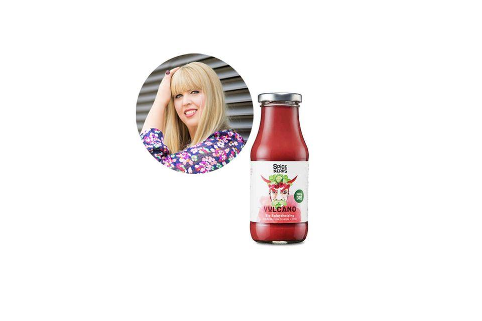 Auf ein gutes Dressing möchte Nane, Head of Fashion und Beauty, in ihrem Salat nicht verzichten.