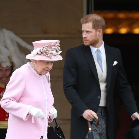 Queen Elizabeth, Prinz Harry
