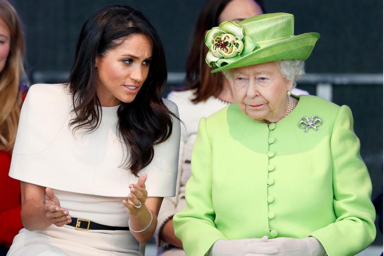 Herzogin Meghan und Queen Elizabeth