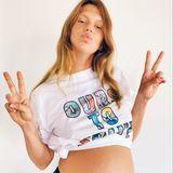 """Alexandra Richards, die Tochter von """"Rolling Stones""""-Star Keith Richards, erwartet ebenfalls Nachwuchs und zeigt stolz ihren Babybauch. Es ist das sechste Enkelkind für den Musiker und das erste Kind für Alexandra und ihren Ehemann Jacques, den sie bei einer Babyshower kennenlernte."""