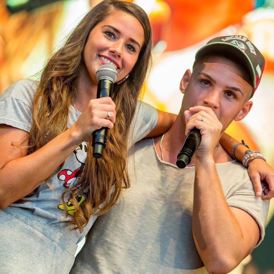 Sarah Lombardi und Pietro Lombardi