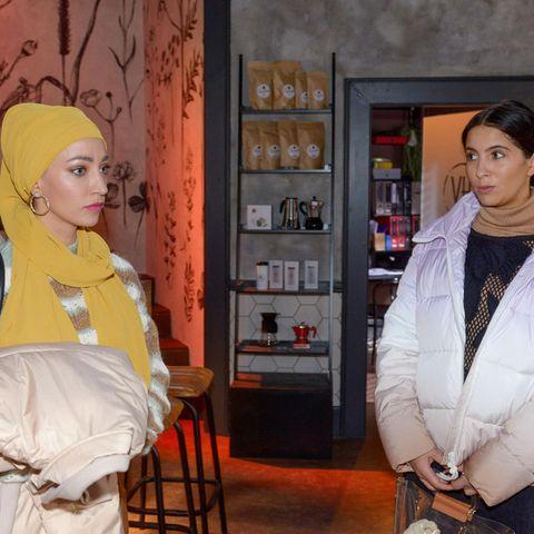 GZSZ: Nazan (Vildan Cirpan) und Laura (Chryssanthi Kavazi)
