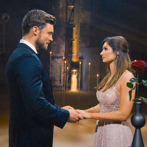 """""""Der Bachelor"""" Niko Griesert und Michèle de Roos"""