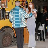Gigi Hadid feiert am 23. April 2021 ihren 26. Geburtstag. Die frischgebackenen Eltern scheinen etwas Zweisamkeit zugenießen, am Food-Truck sieht man förmlich die Funken sprühen zwischen dem Geburtstagskind und Zayn Malik.