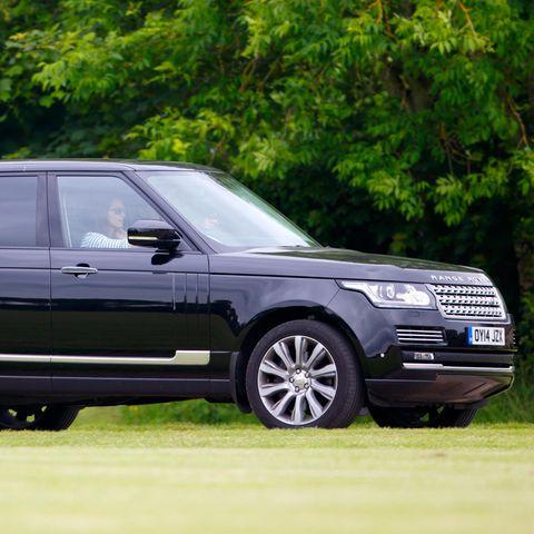 Herzogin Catherine in ihrem Range Rover