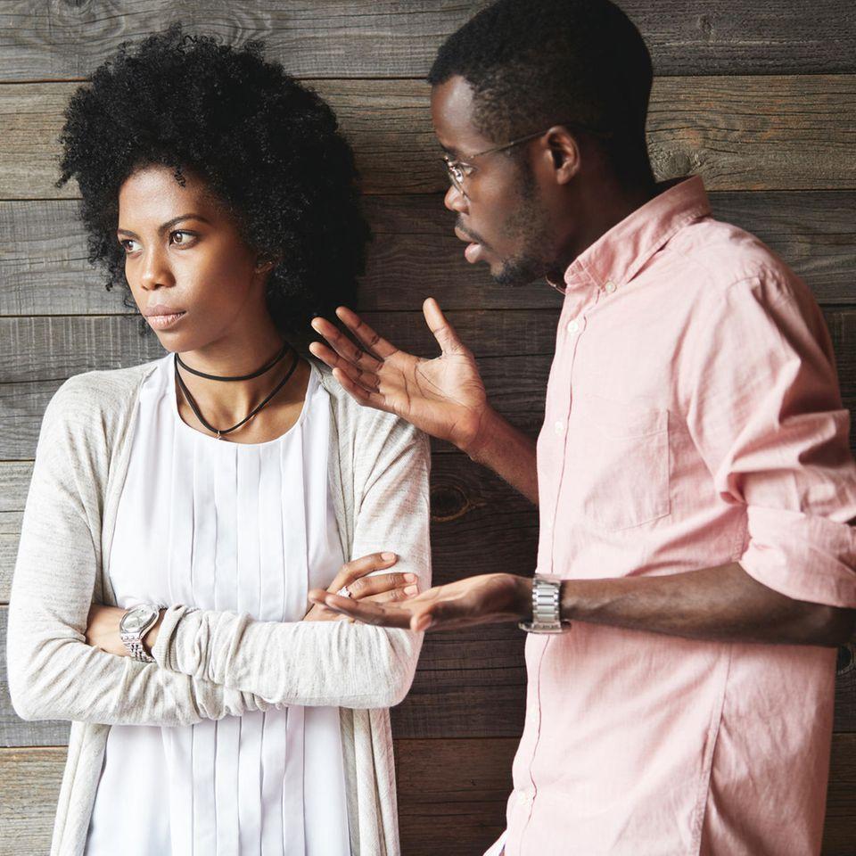 Beziehung: Ein streitendes Paar