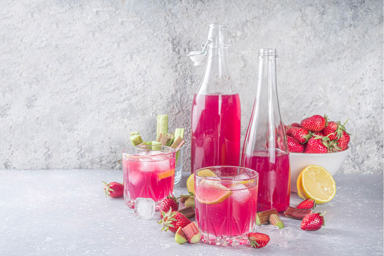 Jamie Olivers Rhabarber-Gin
