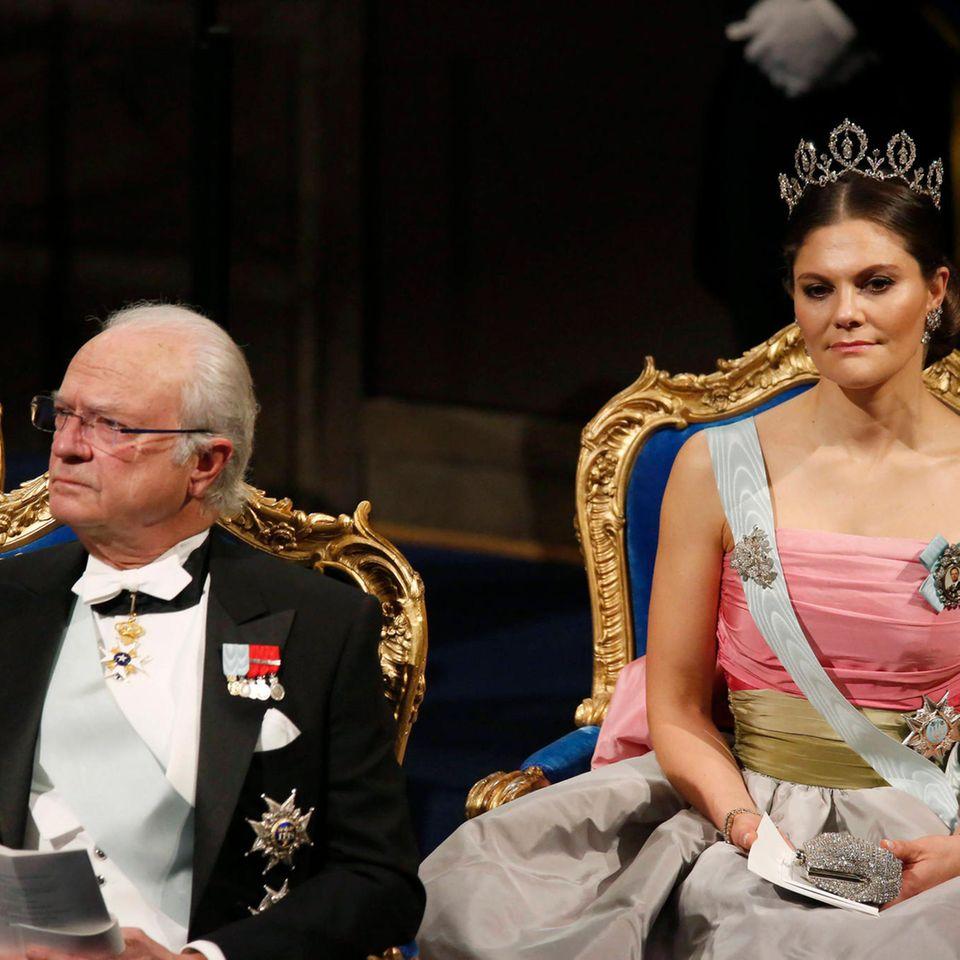 König Carl Gustaf, Prinzessin Victoria