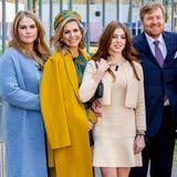 Was für eine royale Bilderbuchfamilie! Königin Máxima, König Willem-Alexander und ihre Töchterzeigen sich bestens gelaunt beim Königstag und wirken wie Models bei einem Shooting für ein Hochglanzmagazin. Der Tag hält für die Familie aber auch lustigeund ernstereSituationen bereit.