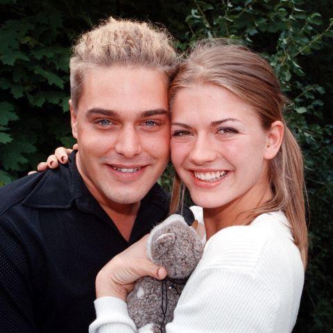 Raphael Vogt und Nina Bott im Jahr 1998