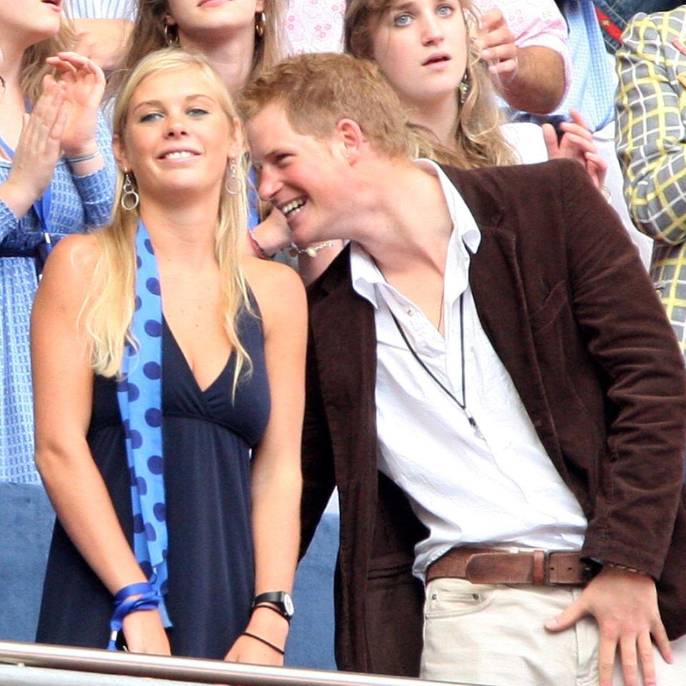 Prinz Harry, seine ehemalige Freundin Chelsy und Prinz William