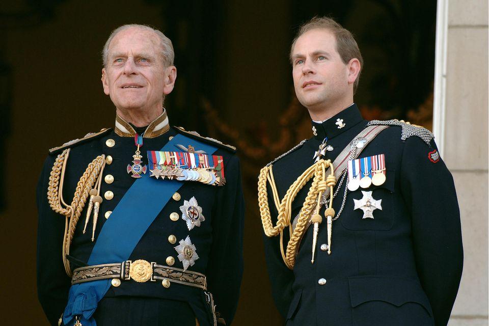 Prinz Philip (†), Prinz Edward