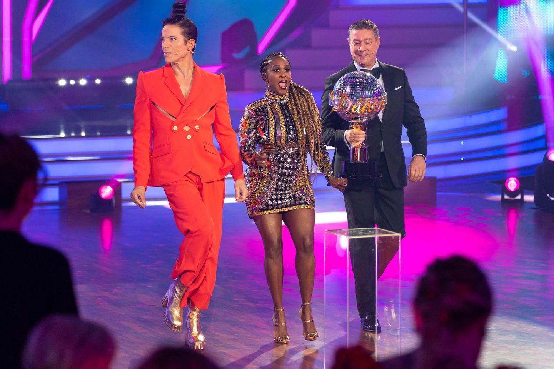 "Die ""Let's Dance""-Jury: Jorge González, Motsi Mabuse und Joachim Llambi"