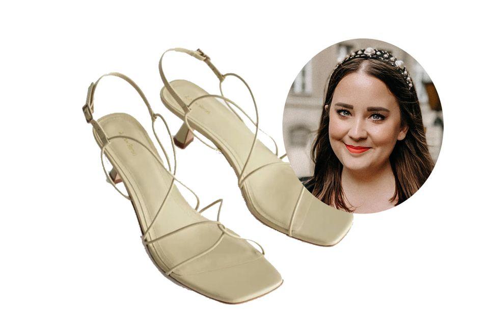 Wenn es um Schuhe geht, geht Moderedakteurin Ann nur ungern Kompromisse ein. Die perfekten Sandalen für den Wedding-Look müssen daher bequem UND stylisch sein.