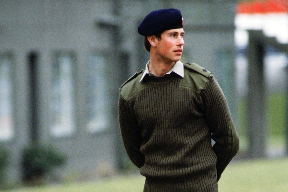Prinz Edward konnte nie eine Leidenschaft für das Militär entwickeln.
