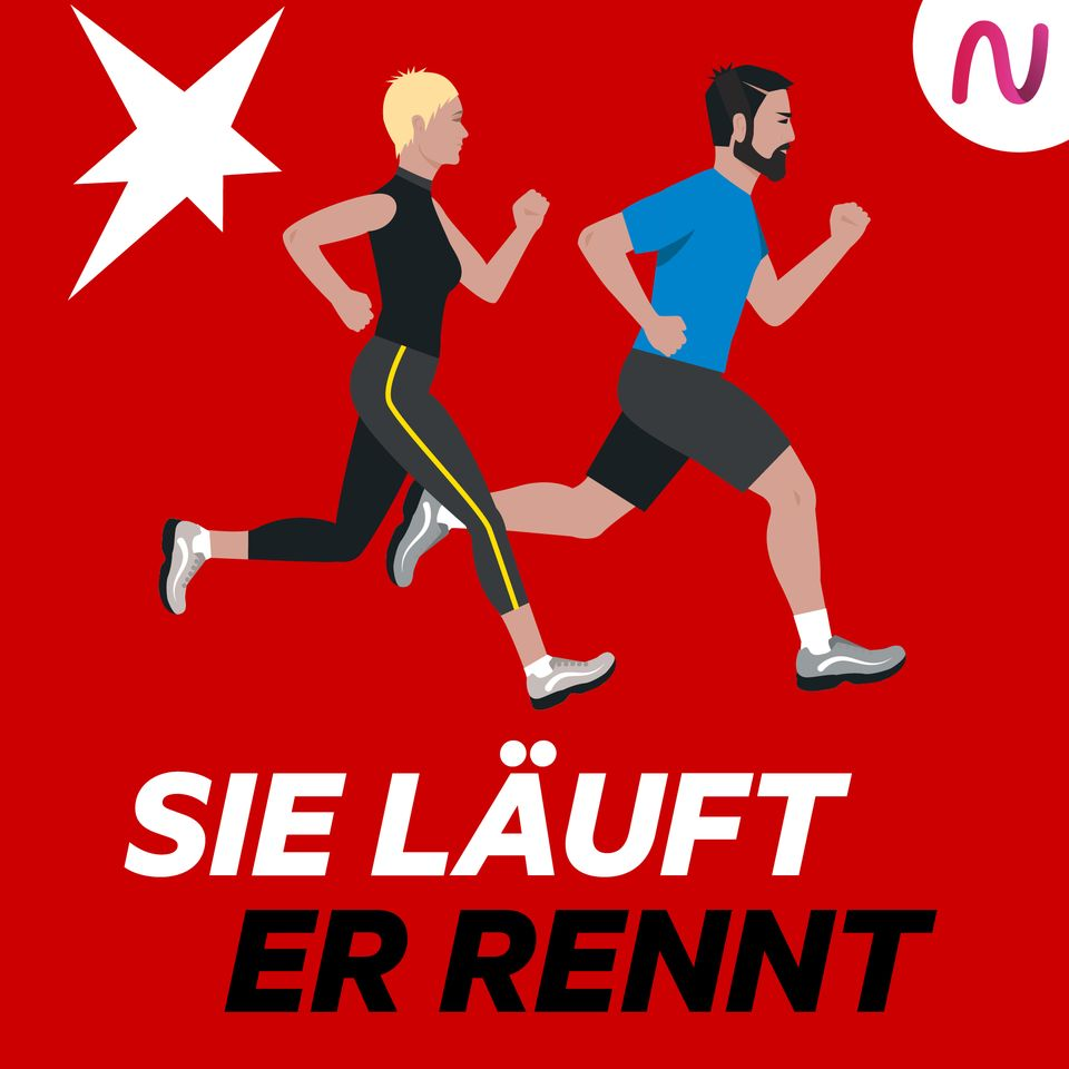 stern: Sie läuft. Er rennt.