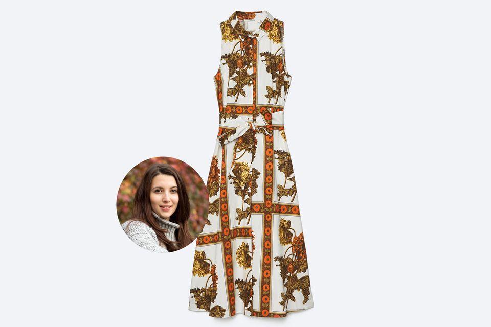 Blusenkleider sind nicht nur etwas fürs Büro, sondern auch perfekt für den Sommer, findet Moderedakteurin Ilka.