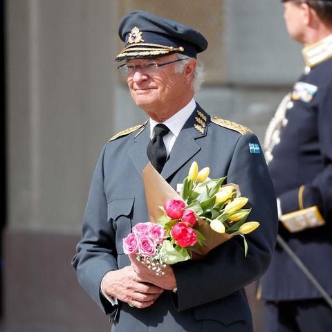 König Carl Gustaf von Schweden