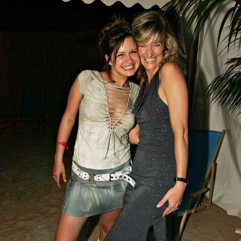 Josephine Schmidt und Schauspielkollegin Bianca Karsten im Jahr 2004