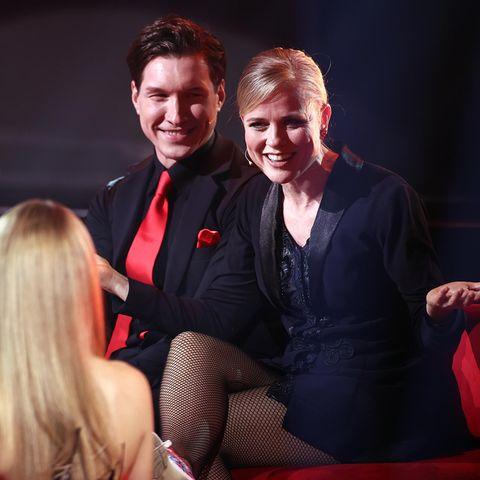 """Evgeny Vinokurov und Ilse DeLange bei """"Let's Dance"""""""