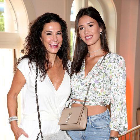 Mariella Ahrens und Tochter Isabella