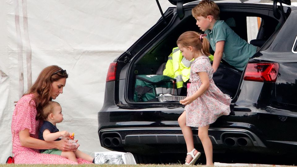 Herzogin Catherine + Kinder
