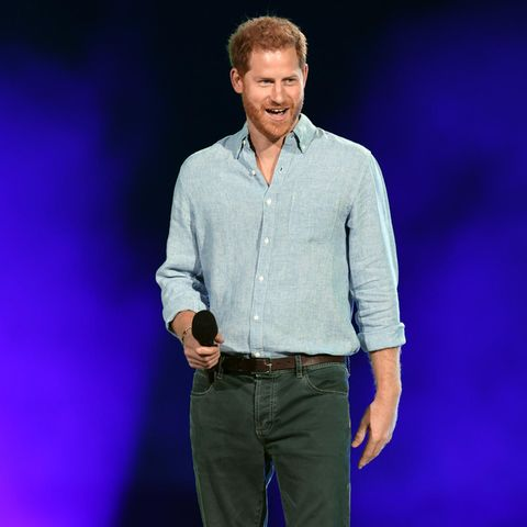 "Prinz Harry am 2. Mai 2021 während des ""Global Citizen VAX LIVE""-Konzerts in Inglewood, Kalifornien"