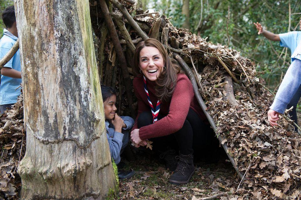 Herzogin Kate engagiert sich seit 2012 für die Pfadfinder.